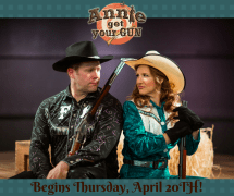 Annie Get Your Gun at Brigham's Playhouse