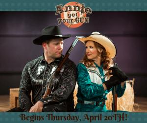 Annie Get Your Gun at Brigham's Playhouse