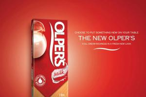 olpers new packaging ad launch