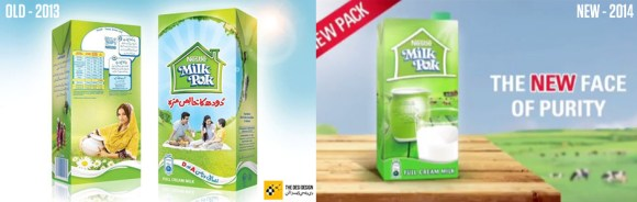 milkpak pack design