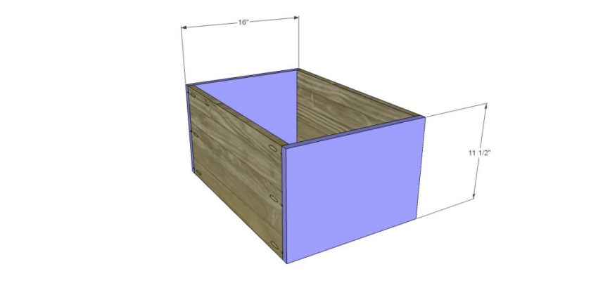 You Can Build This! Easy DIY Plans from The Design Confidential Free DIY Furniture Plans // How to Build A Dawson Large Desk via @thedesconf
