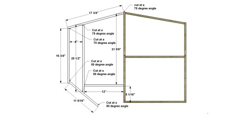 Step 2 for The Design Confidential Free DIY Furniture Plans // How to Build a Polar Bear Bookshelf