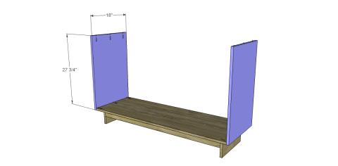 Dresser Sides for Free DIY Furniture Plans to Build an Emmerson 6 Drawer Dresser