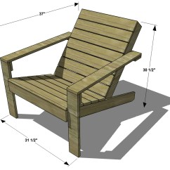 Plans Adirondack Chairs Free Chair Mat Walmart Diy Furniture How To Build An Outdoor Modern