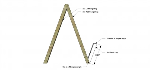 You Can Build This! Easy DIY Plans from The Design Confidential with Complete Instructions on How to Build an Angular Plant Stand via @thedesconf