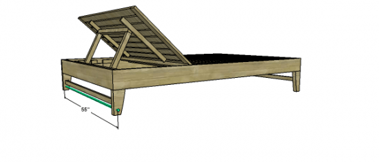 You Can Build This! The Design Confidential Free DIY Furniture Plans to Build a Chesapeake Double Lounger via @TheDesConf