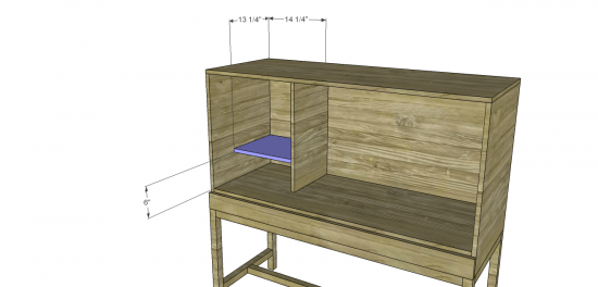 You Can Build This! Easy DIY Furniture Plans from The Design Confidential with Complete Instructions on How to Build a Bourne Bar Cabinet via @thedesconf