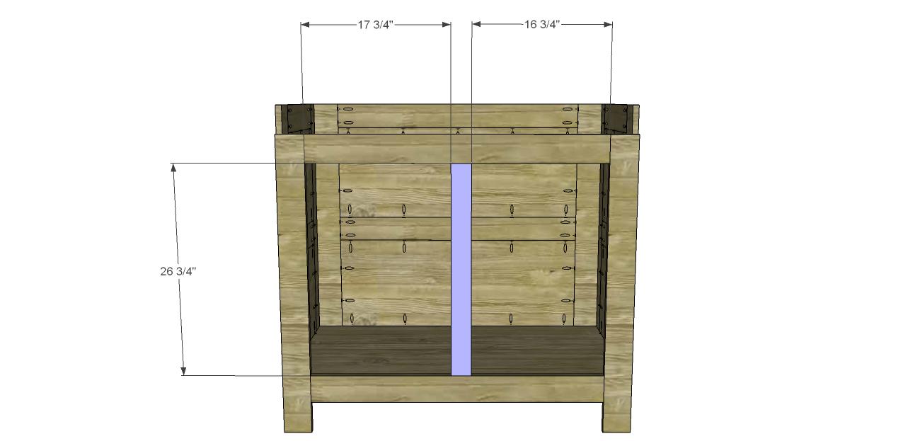 Diy Bar Cabinet Plans