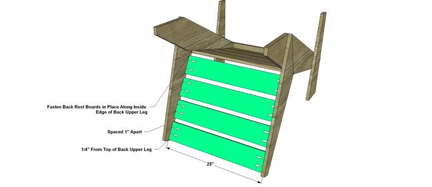 You Can Build This! Easy DIY Plans from The Design Confidential with Complete Instructions on How to Build a Sawyer Adirondack Chair via @thedesconf