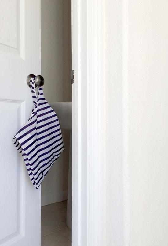 The Design Confidential Boys Plus Bathrooms Equal Trash Basket Baggu Solution