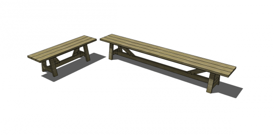 Terrific Free Diy Furniture Plans To Build Provence Beam Benches Pabps2019 Chair Design Images Pabps2019Com