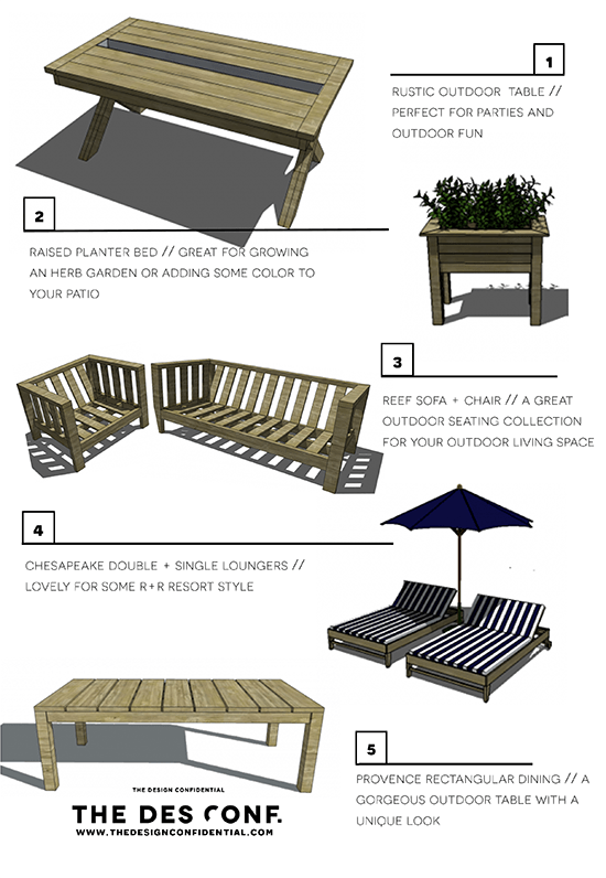 Garden Furniture Plans top 10 most popular diy outdoor furniture plans - the design
