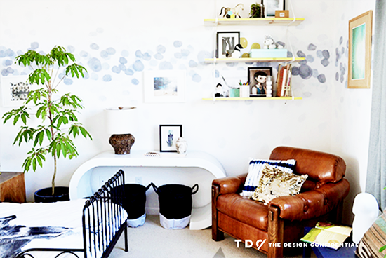 A Bohemian Modern Room Makeover for a Boy