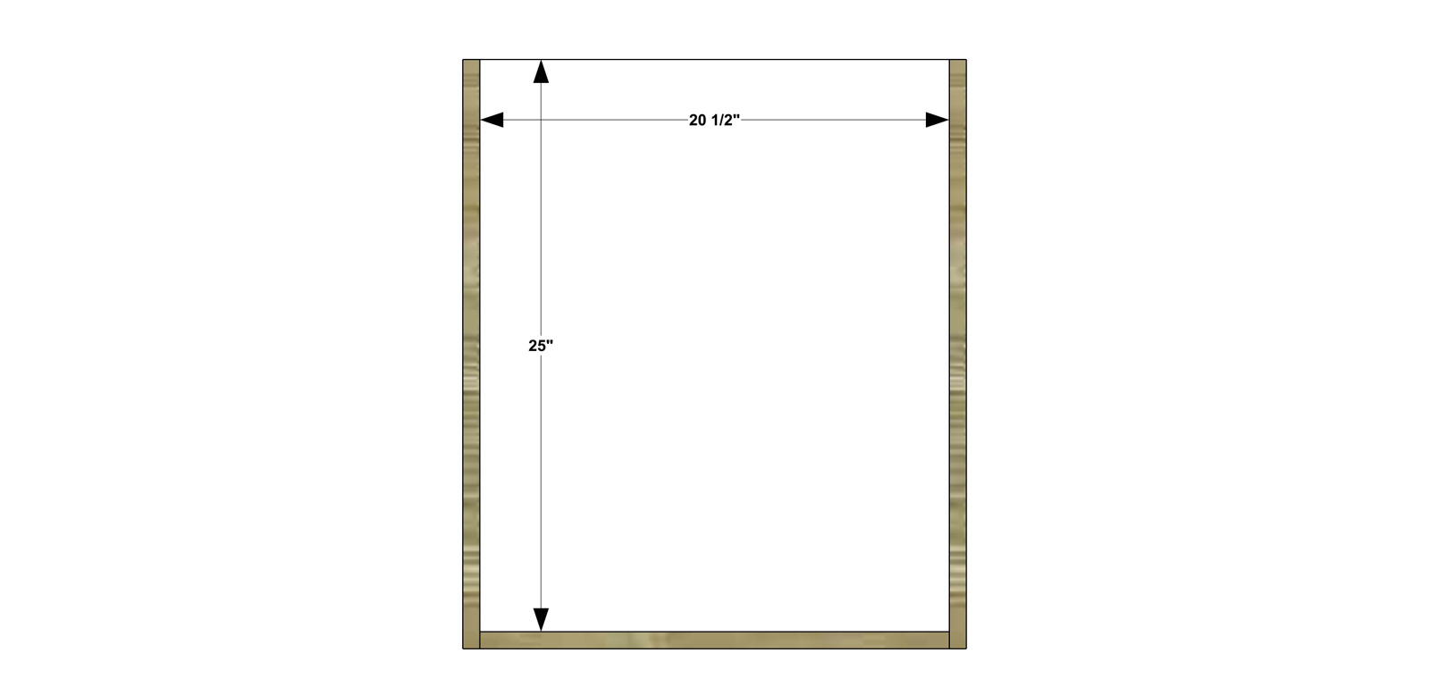Free DIY Furniture Plans // How to Build a Twin Sized Low