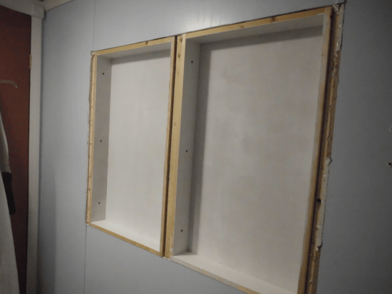DIY: How to Build a Cabinet Inside the Wall