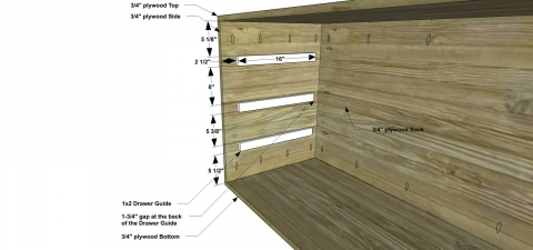 You Can Build This! Easy DIY Plans from The Design Confidential with Complete Instructions on How to Build a Cascade Dresser via @thedesconf