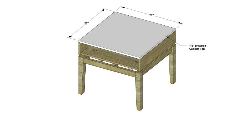You Can Build This! Easy DIY Furniture Plans from The Design Confidential with Complete Instructions on How to Build a Cassidy Mini Nightstand via @thedesconf