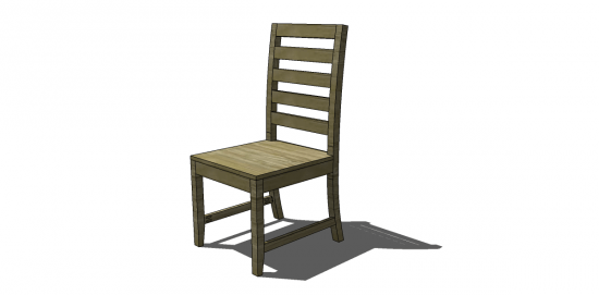 Free DIY Furniture Plans To Build A Francine Dining Chair