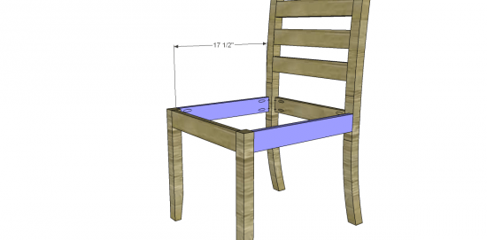 free diy furniture plans to build a francine dining chair - the