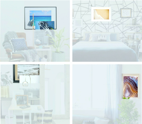 The Design Confidentials Styling Secret // Easy + Inexpensive DIY Over-Sized Art