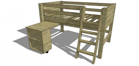Epic The Design Confidential Free DIY Furniture Plans How to Build a Twin Sized Low