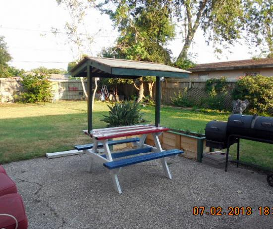 builders showcase: jake's picnic table canopy - the design ...