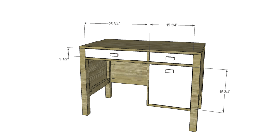 You Can Build This! The Design Confidential DIY Furniture Plans // How to Build an Oak Park Elementary Desk