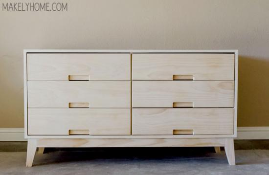 Free DIY Furniture Plans: How to Build a Steppe 6 Drawer