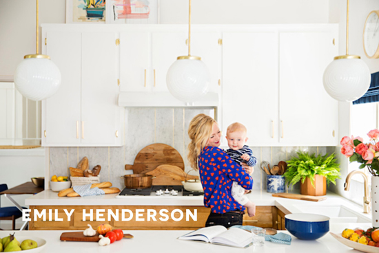 Emily Hendersons Kitchen Featured on The Design Confidential