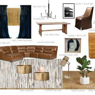 The Design Confidential Family Room Redesign