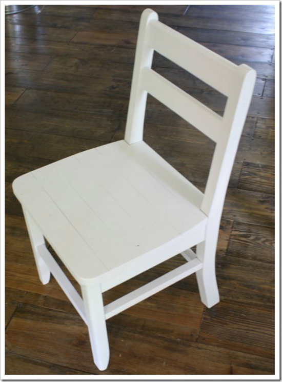 Free Diy Furniture Plans To Build A Shabby Chic Cottage Dining Chair
