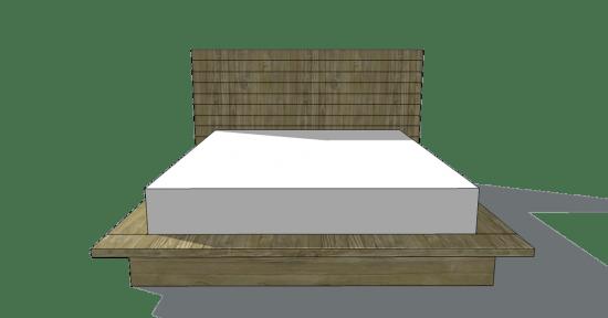 Elegant Free DIY Furniture Plans to Build a Viva Terra Inspired Vintage Fir Platform Bed in Full