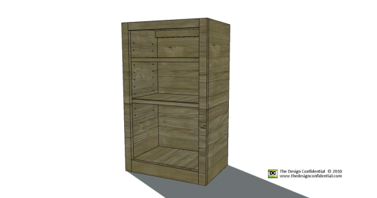 Free Woodworking Plans To Build The Easiest Wall Cabinet Ever