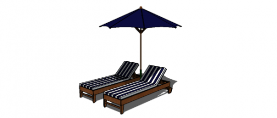 The Design Confidential Free DIY Furniture Plans to Build a Chesapeake Single Chaise Lounge
