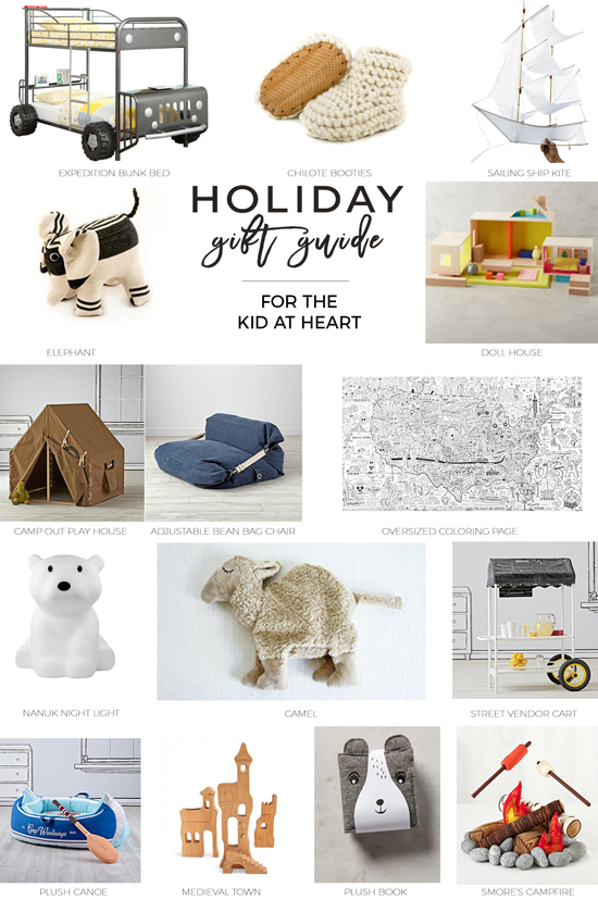 Gifted // Gift Guide for the Kid at Heart