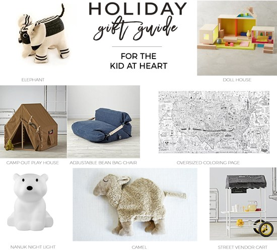 The Design Confidential Gifted // Gift Guide for the Kid at Heart