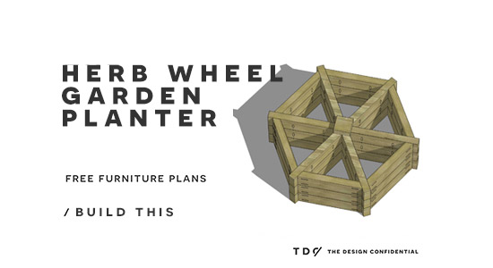 how to build a herb planter