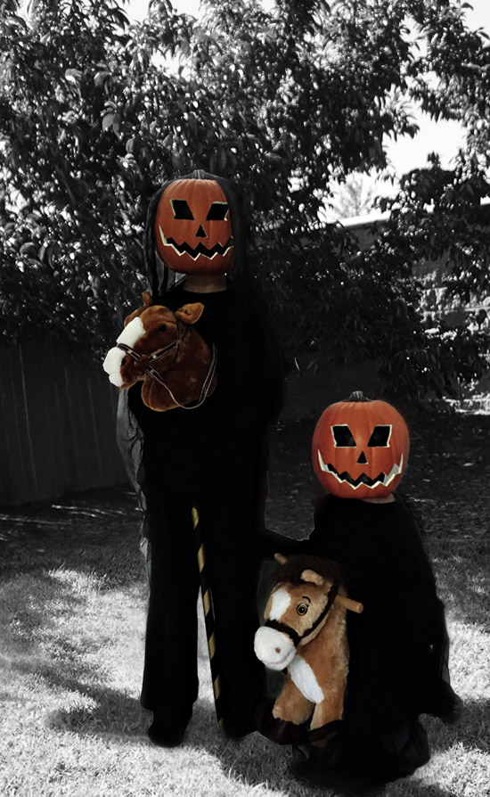 Easy Halloween DIY // Headless Horseman Costume