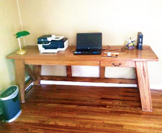 Reader Showcase // Hendrix Large Desk