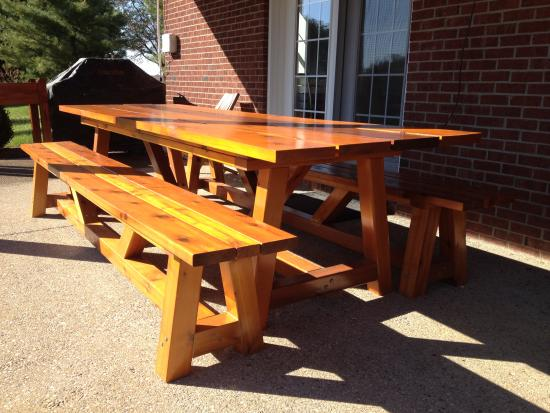 4×4 Picnic Table Plans