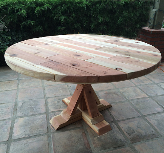 Cool Real Reader Showcase for The Design Confidential Round Provence Beam Dining Table