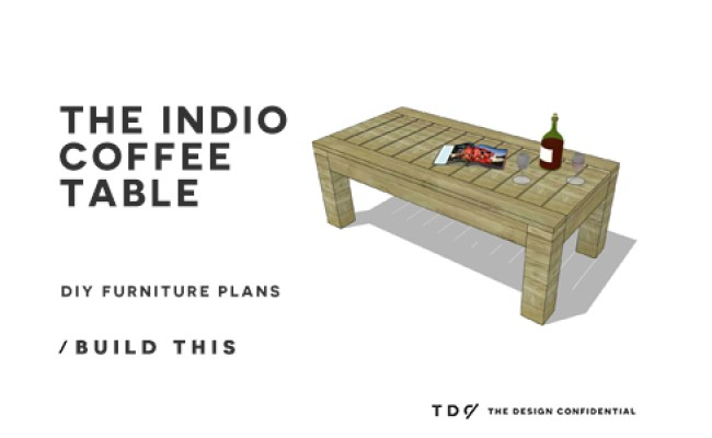 Diy Furniture Plans How To Build The Indio Coffee Table The