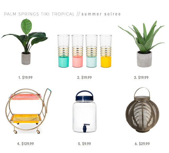 The Design Confidential x Target Summer Soiree and Party Inspiration Swap via @thedesconf