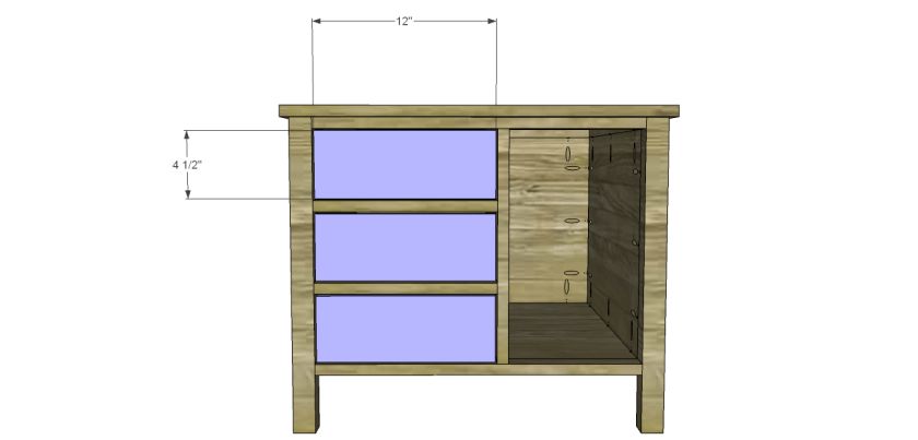 You Can Build This! Easy DIY Furniture Plans from The Design Confidential with Complete Instructions on How to Build a Henrendon Dresser via @thedesconf