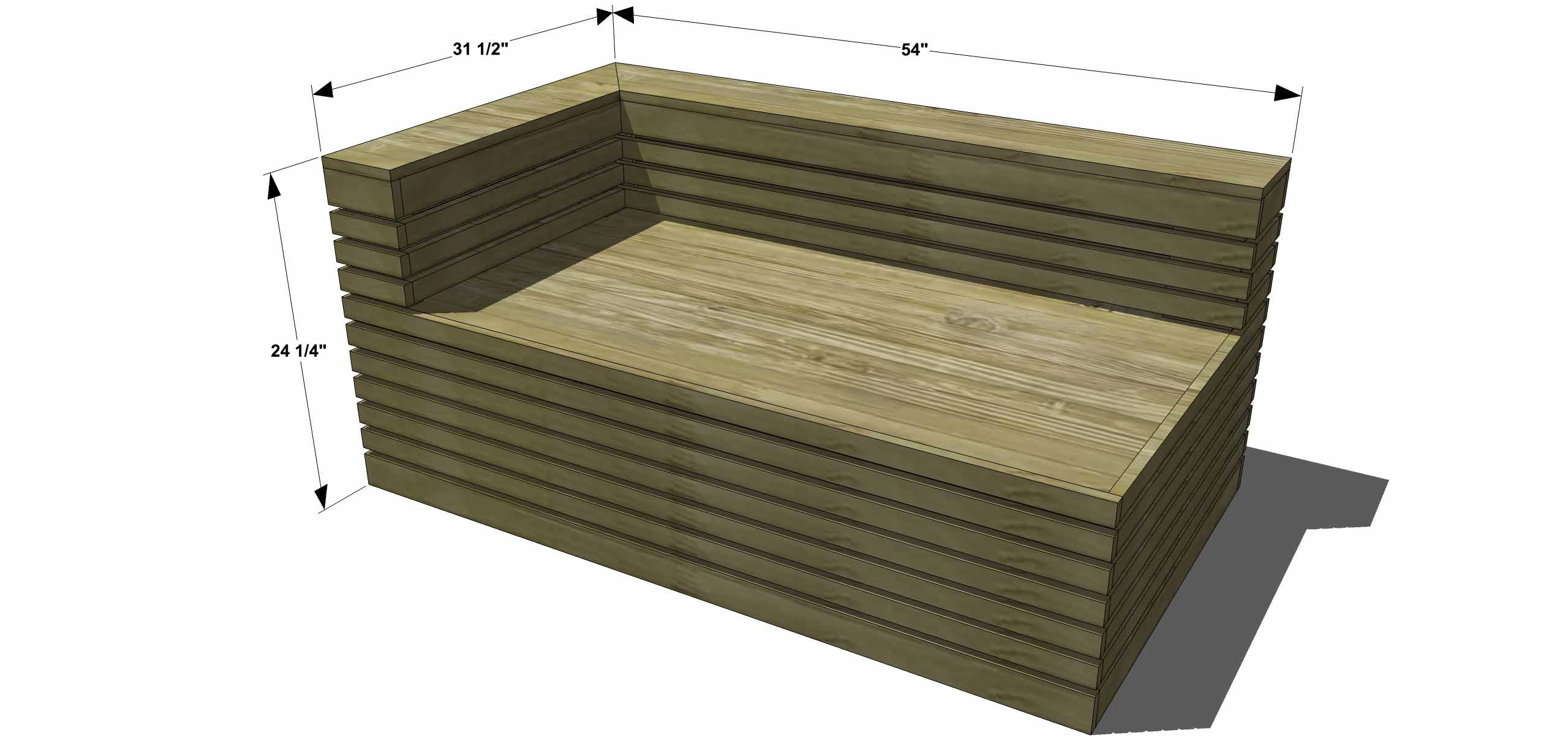 plans to build outdoor sectional sofa ikea sleeper sofas free diy furniture how an indoor