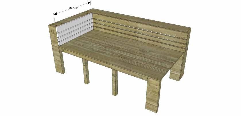 You Can Build This! Easy DIY Plans from The Design Confidential Free DIY Furniture Plans // How to Build an Indoor Outdoor Nova Sectional Sofa Chaise via @thedesconf