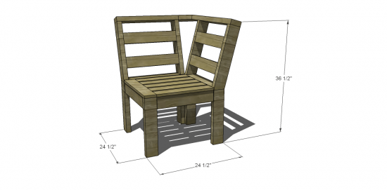 The Design Confidential Free DIY Furniture Plans to Build an OutdoorFree DIY Furniture Plans to Build an Outdoor Corner Unit   The  . Diy Patio Furniture Plans. Home Design Ideas