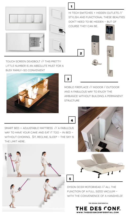 Dream Home // 10 Home Tech + Creature Comforts that Make Life Better 1 - 5