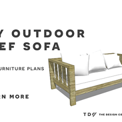 Build Sectional Sofa Blue And Gold Striped Free Diy Furniture Plans // How To An Outdoor Reef ...