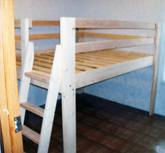 how to build a low bed